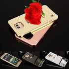 Mirror Case For LG G3 G4 G5  Metal Bumper + Acrylic Cover Phone Protective Shell