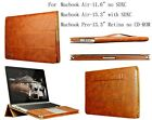 "Real Leather Case Cover for Apple Macbook Air 11""/13"" Pro Retina 13"" Models"