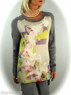 ~ MARCCAIN COLLECTIONS ~STRICK ~ LONG PULLI ~ PULLOVER N3/38 N5/42 N6/44  ~