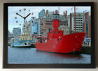 Liverpool Light Ship A4 Picture Clock