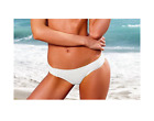 VICTORIA's SECRET White Lace Knockout Bikini Bottom Small Medium Large RRP £40