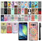 For Samsung Galaxy A7 A700 HARD Protector Back Case Phone Cover + PEN