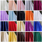 "1 Yard 19MM 100% Pure Silk Charmeuse Satin Fabric Clothing Sewing 45"" Wide"