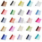 5 Rolls Sheer Fabric DIY Chair Sash Bow Wedding Table Swag DIY Decor 10 Colours