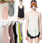 Women Summer Vest Top Sleeveless Shirt Blouse Casual Tank Tops Fashion T-Shirt