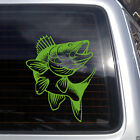 Walleye Fish Vinyl Decal - fits cars, glass, metal, laptops and much more K660