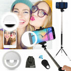 EEEKit 40 LED Selfie Fill Light Up Phone Ring Flash+Selfie Stick+Tripod+Remote
