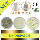 6 X GU10/MR16 Day/Warm White Light 60/4W/6W SMD LED Bulbs/lamps Replace Halogen