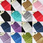 10pc 30x275CM Pintuck Satin Table Runner Tablecloth For Wedding Party Home Decor