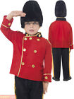 Boys Busby Royal Guard Costume Child English Soldier Fancy Dress London Book Day