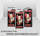 Betty Boop Cartoon Showing The Love Pink Girly Heart Hard Phone Case Cover H2123 £5.99 GBP on eBay