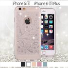Luxury Glitter Clear Soft Silicone TPU Case Cover Skin for iPhone6 6s/Plus