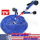 US LOCAL 25 50 75 100 200 Ft Expandable Flexible Garden Water Hose Spray Nozzle