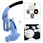 Button making set - cover machine, setter, blank cutter die and 50 blanks S034