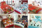 Christmas Kids Quilt Duvet Cover Bedding Sets All Sizes