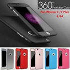 Shockproof 360° Full Case Cáscara + Tempered Glass For Apple iPhone 6 6S 7 Plus segunda mano  China