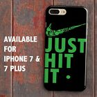 JUST HIT IT T shirt Swoosh Logo Weed 420 Humor for iPhone 7 & 7 Plus Case Cover
