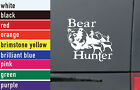 Bear Hunter Hunting Vinyl Sticker Decal Car-Truck Laptop-Netbook 1463