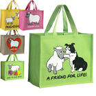 Lambland Various Sheep Design Re-usable Jute Shopping Bags