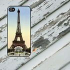 PARIS Eiffel Tower Image Rbr Case for iPhone 5/5s/5c/6/6s/7 Galaxy S4/S5/S6/S7