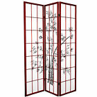Oriental Furniture 6 ft. Tall Lucky Bamboo Room Divider