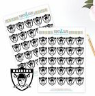 Oakland Raiders Planner Stickers - Perfect for all Planners like Erin Condren $3.75 USD on eBay