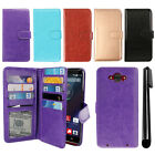 For Motorola Droid Turbo XT1254 Flip Magnetic Card Holder Wallet Cover Case +Pen