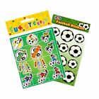 Football Stickers Sheet Party Bag Fillers, Boys  Favours Soccer Toys Rewards
