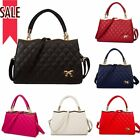 Women Purse PU Leather Lady Handbag Messenger Shoulder Bag Tote Satchel Bowknot