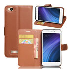 """Card Holder Flip PU Leather Protective Case Cover For 5.0"""" Xiaomi Redmi 4A Phone"""