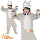 Child Battersea Smudge the Cat Costume Kids Book Day Animal Fancy Dress Outfit