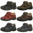 Boys Red/Brown/Khaki Leather Startrite Shoes Rowdy