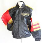 New Mickey Mouse Wild One JH style leather bomber motorcycle jacket XS - XL