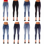 Womens Ladies Fashion Skinny Denim Jeggings Jeans Sizes 6 8 10 12 14 16 18 20