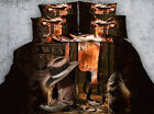 The wild west hat and boots 4 Piece bedding set   -5 sizes available
