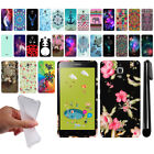 "For Alcatel Pixi 4 6"" Art Design TPU Soft SILICONE Rubber Case Cover + Pen"
