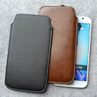 For Samsung Galaxy S6 Slim PU Leather Pouch Sleeve Case