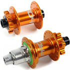 Hope Pro 4 Front + Rear Hubs Combo - Orange - Customize Specs - Brand New