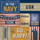 12x12 Military Scrapbook Paper-Patriotic-Flag-Marines-Navy-Bravery-Camo 1,2or3ea
