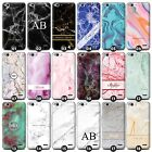 Personalised Marble Phone Case/Cover for Vodafone Smartphone Initial/Name/Custom