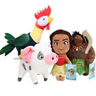 20-30cm Disney Moana Maui Heihei Pig Pua Soft Plush Dolls Stuffed Kids Toy