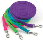 Shires Wessex Soft Feel Lunge Line 26'  - Lime,  Pink,  Blue,  Purple