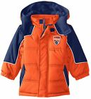 iXtreme Toddler Boys Cut and Sew Colorblock Expedition Winter Puffer Jacket Coat