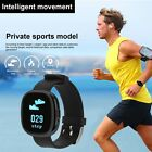 Bluetooth Smart Bracelet Heart Rate Blood Pressure Tracker Wrist for Android IOS