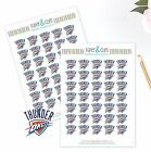 Oklahoma City Thunder Planner Stickers - Perfect for Planners like Erin Condren on eBay