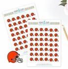 Cleveland Browns Planner Stickers - Perfect for all Planners like Erin Condren $2.5 USD on eBay