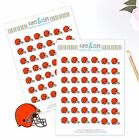 Cleveland Browns Planner Stickers - Perfect for all Planners like Erin Condren $3.5 USD on eBay