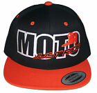 MOTO JUST RIDE HAT MOTOCROSS  FLATBILL SNAPBACK DIRT BIKE MX MOTORCYCLE