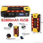 82800mAh 4USB Portable Car Jump Starter Pack Booster Charger Battery Power Bank#