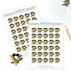 Pittsburgh Penguins Planner Stickers -Perfect for all Planners like Erin Condren $3.75 USD on eBay